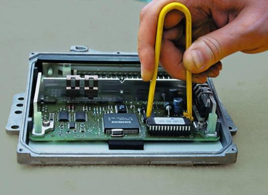 ремонт блока управления двигателя