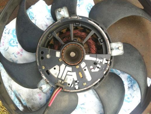 Ремонт вентилятора радиатора Фольксваген